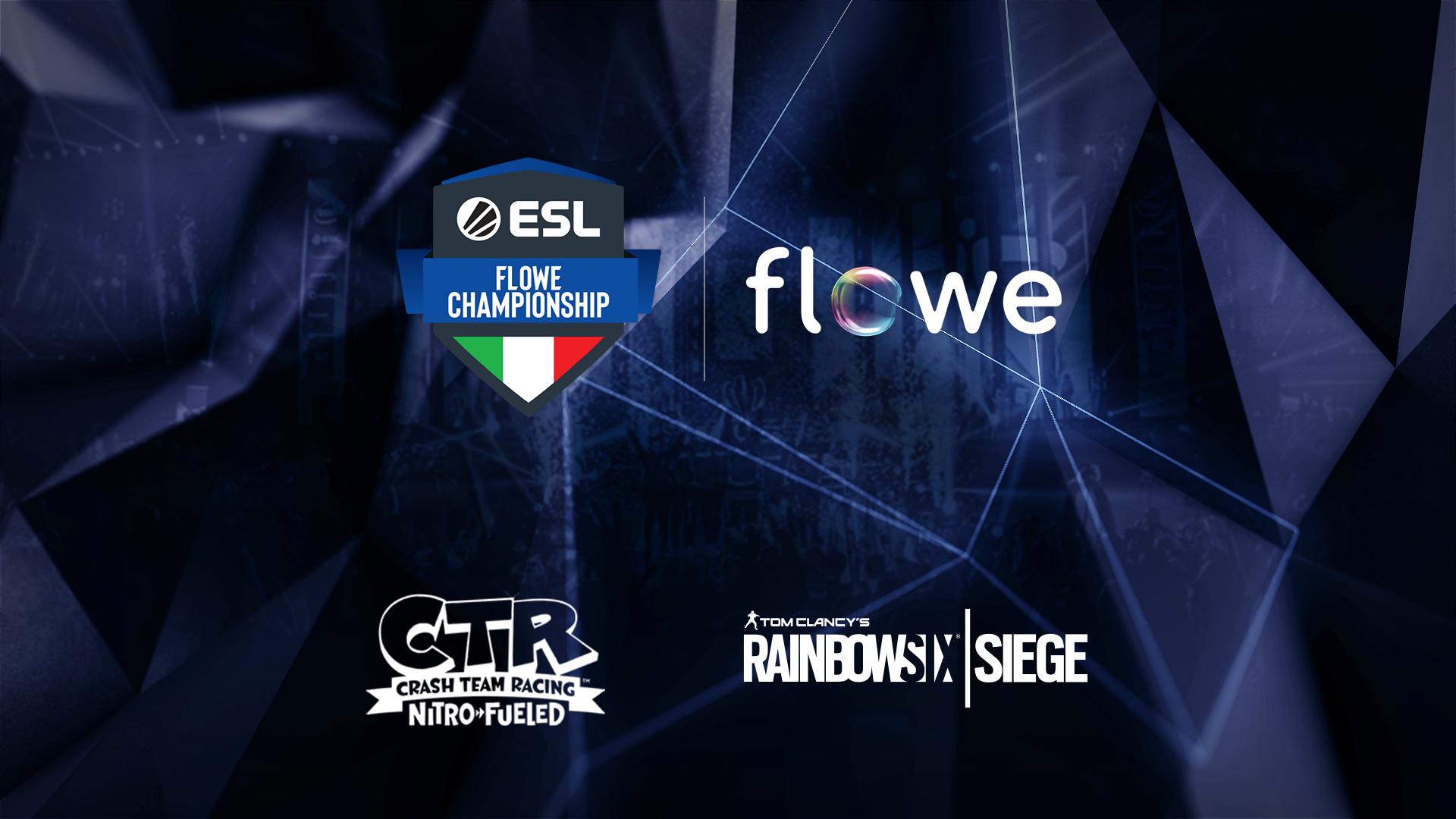 Nasce l'ESL Flowe Championship - Esport e PS4