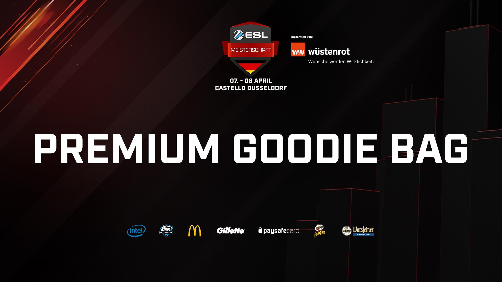 Die Goodie Bag der ESL Frühlingsmeisterschaft 2018