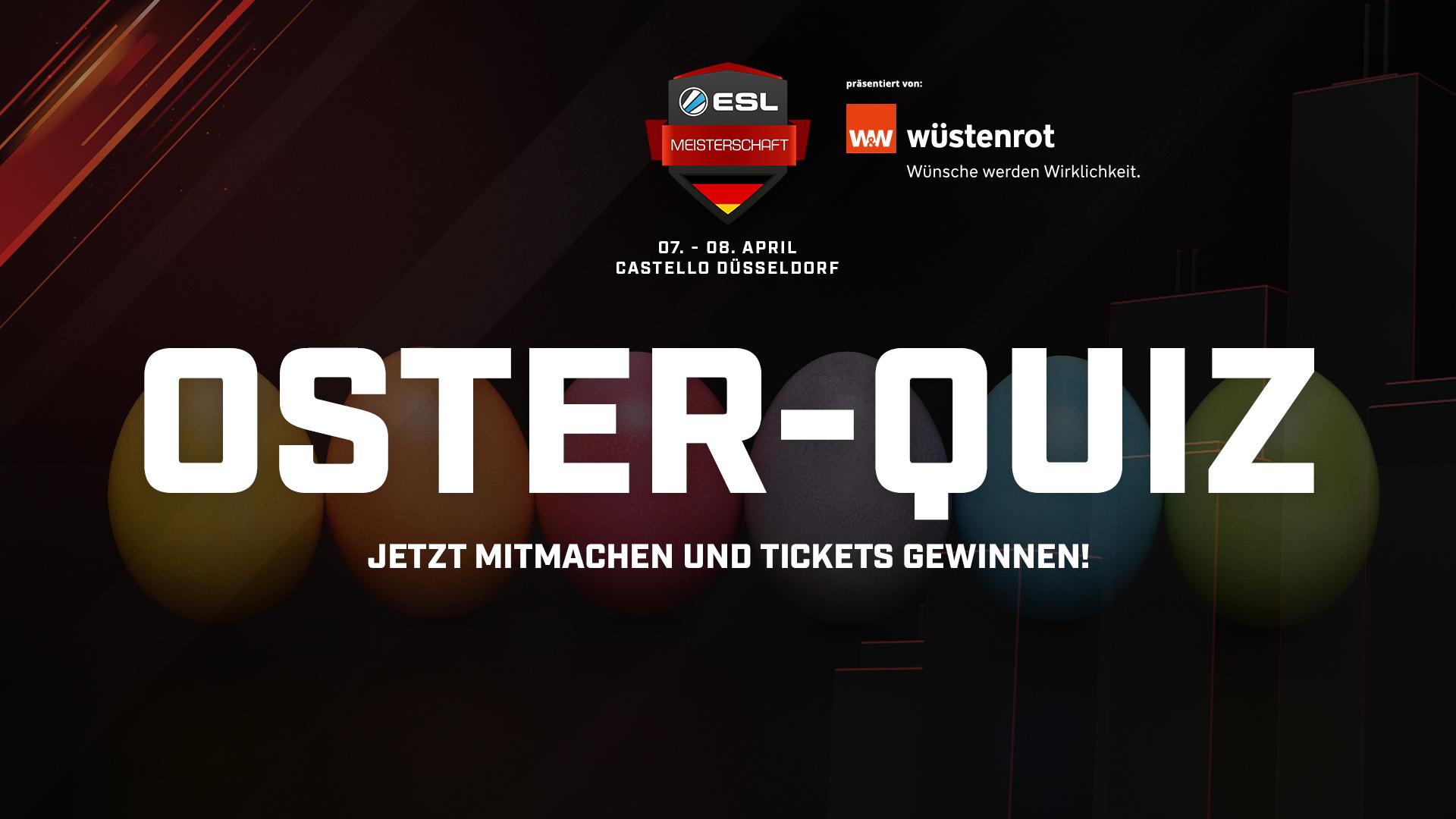 Gewinnt über Ostern Tickets für die Finalspiele in Düsseldorf