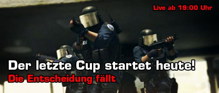 Endspurt! Der 5.Cup in CS:GO