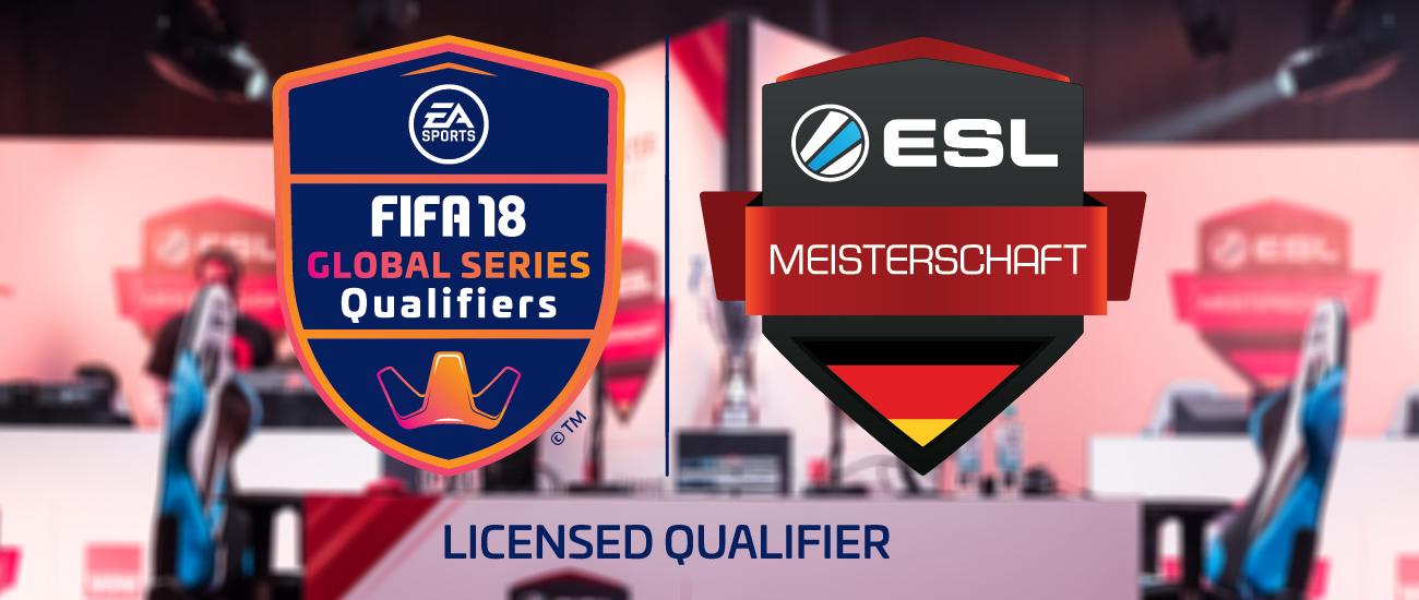 Die ESL Meisterschaft richtet offiziellen EA SPORTS FIFA 18 Global Series Qualifier am 7. April in Düsseldorf aus