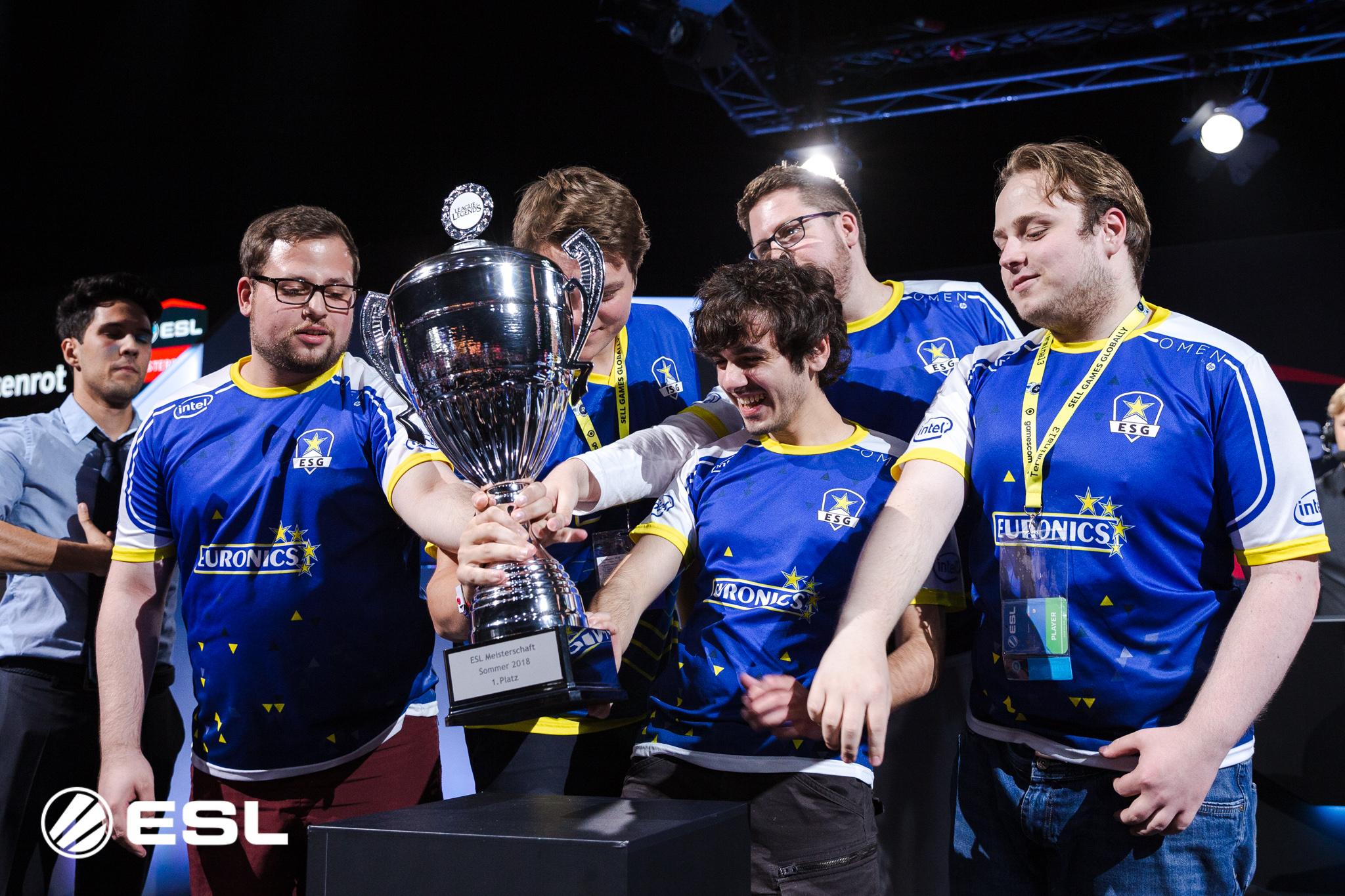 Meister EURONICS Gaming ist nach dem 4. Spieltag ärgster Verfolger von Aufsteiger SK Gaming