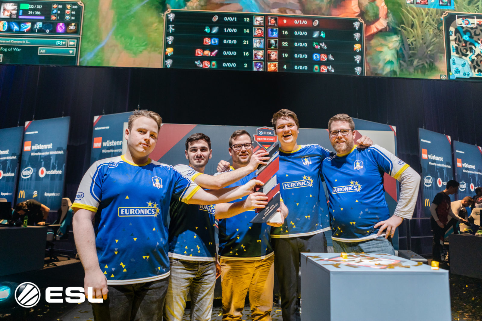 EURONICS Gaming macht in Oldenburg den Titel-Hattrick 2018 perfekt