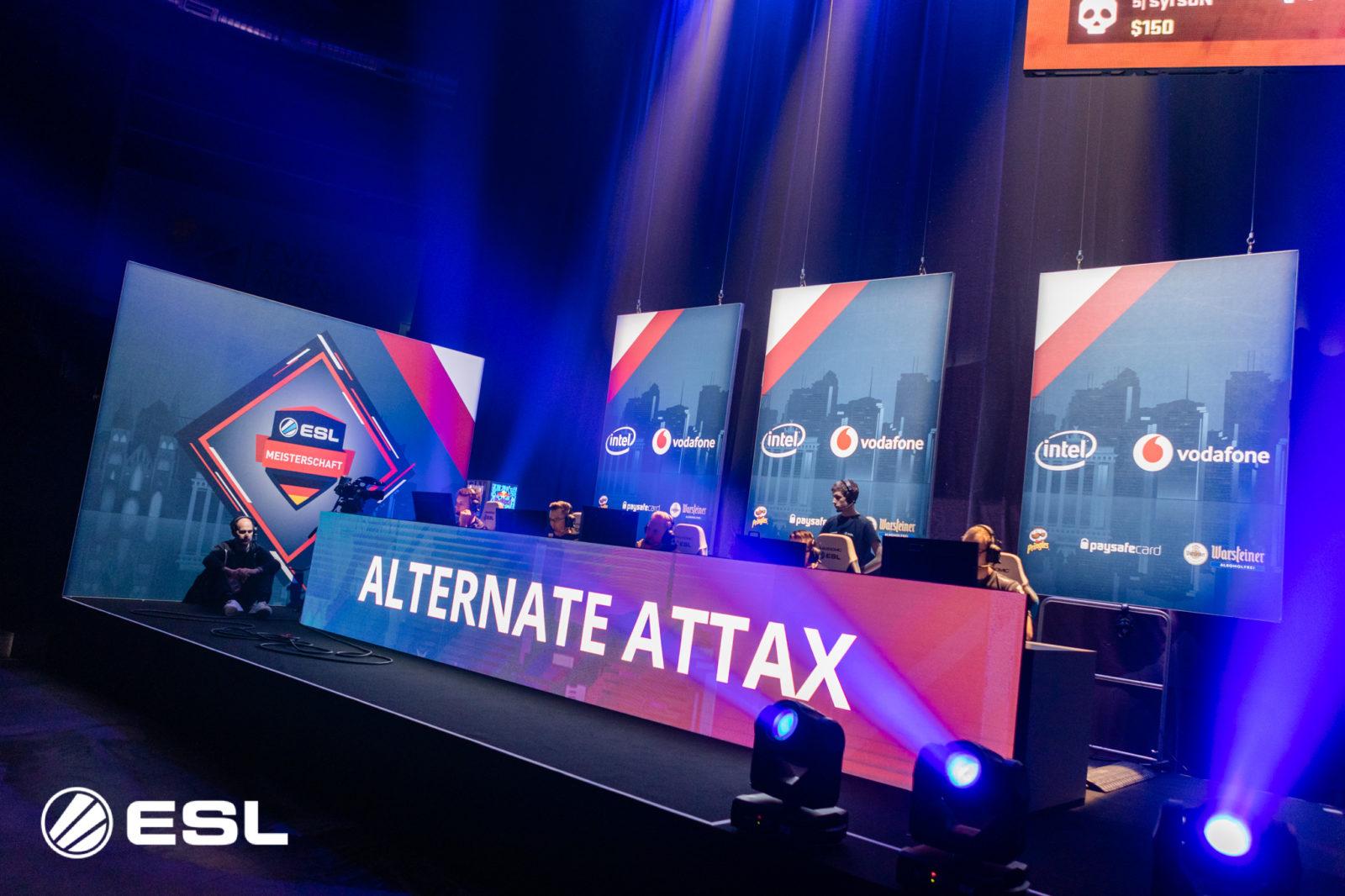 Nach dem 1. Spieltag: ALTERNATE, BERZERK, PANTHERS und Sprout teilen sich die Tabellenführung