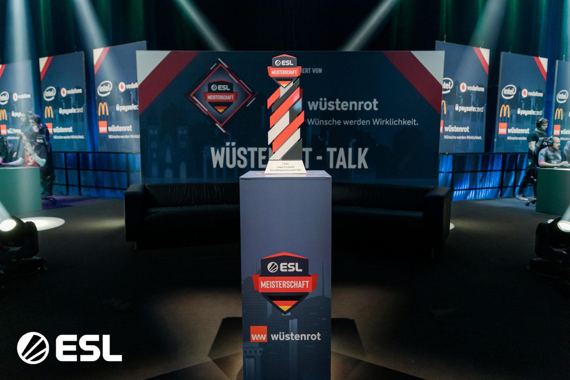 Die ESL Meisterschaft startet bald in den Sommer 2019