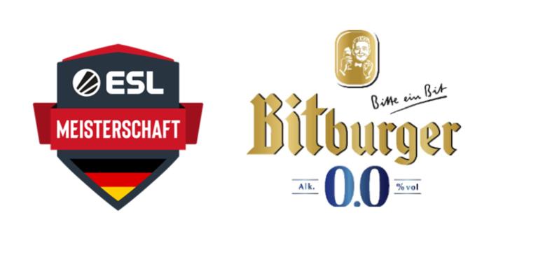 Bitburger 0,0% wird Premium Partner der ESL Meisterschaft 2020