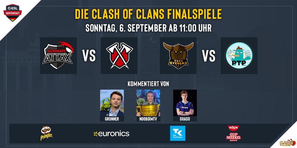 Der Kampf um den ersten Meistertitel in Clash of Clans wartet auf uns