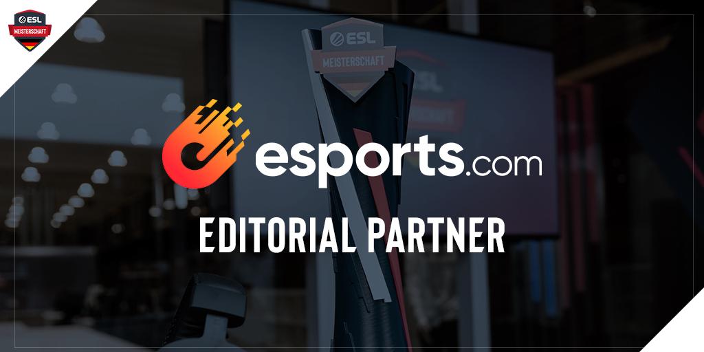 esports.com wird Editorial Partner der 2. Saison der ESL Meisterschaft 2020