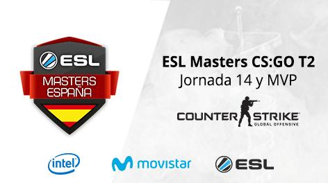 Resumen ESL Masters CS:GO - Jornada 14 y MVP Fase Regular