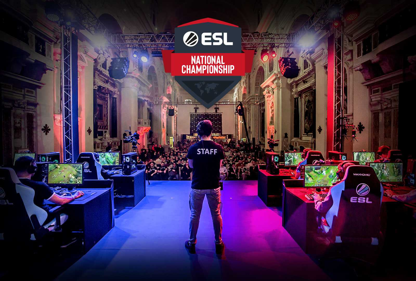 ESL League of Legends Eurocup a Lucca Comics & Games 2019