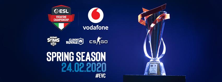 Benvenuta primavera: parte ESL Vodafone Championship Spring Season 2020!