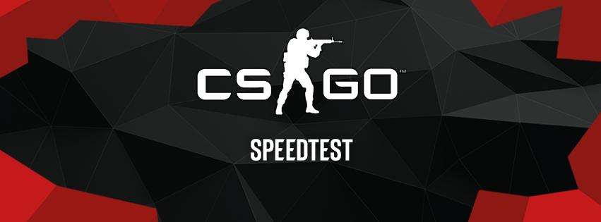 CSGO e Gruppo B di EVC: speedtest - tutto molto veloce