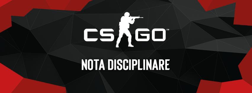 Avviso di Squalifica: NENO - Disqualification notice: NENO