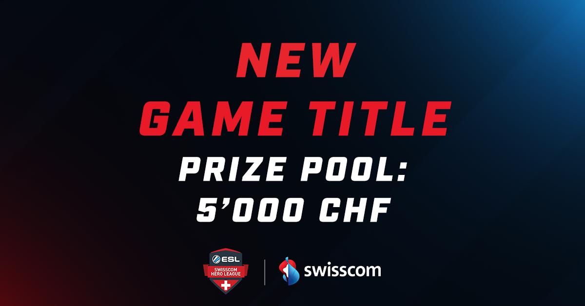 Der neue Spieltitel in der Swisscom Hero League