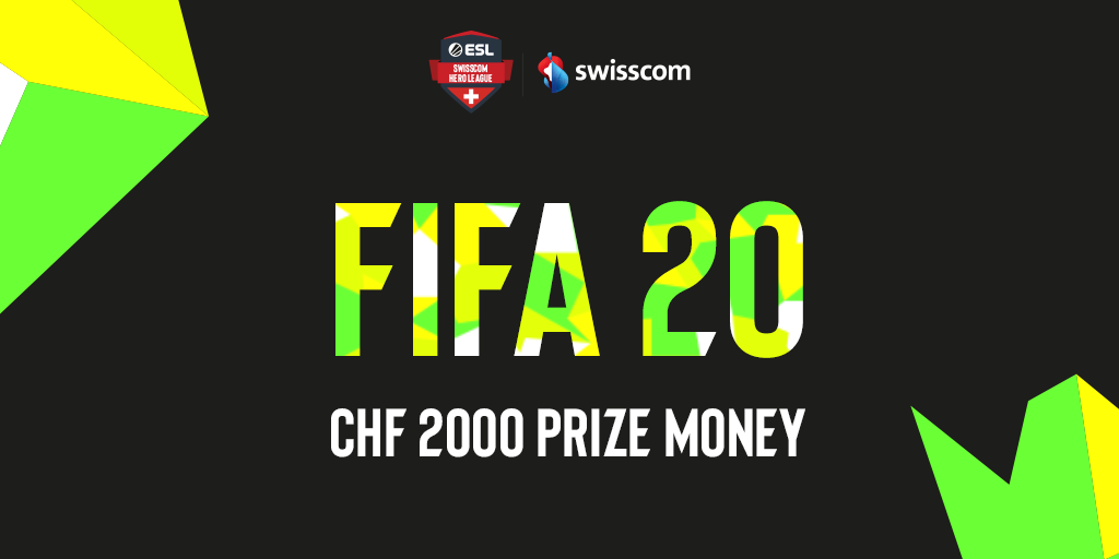 ESL and SWISSCOM Launch A New Challenge for FIFA20 Players in Switzerland