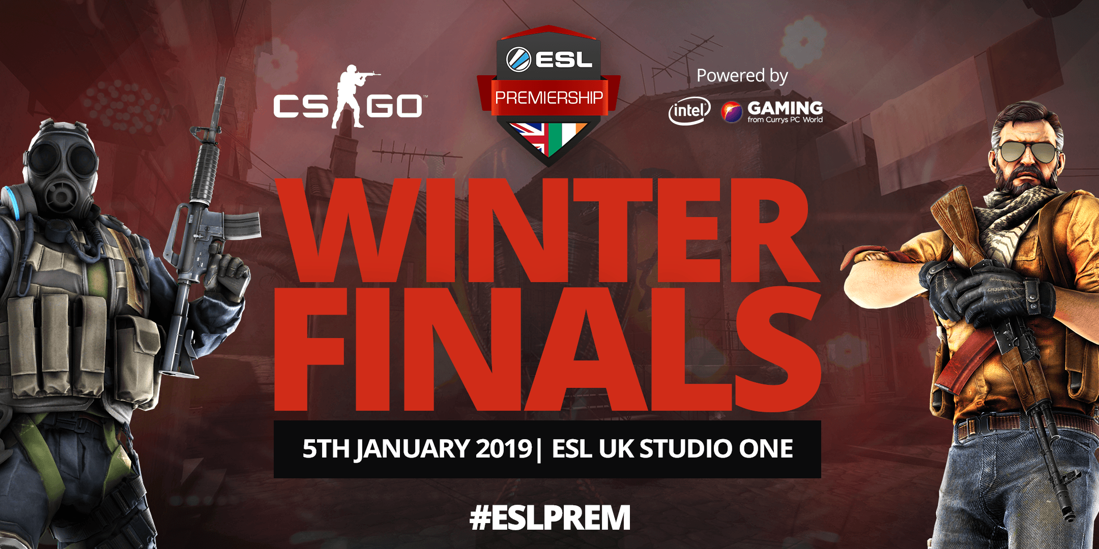 Tickets available now! ESL CS:GO Premiership 2018 Winter Season Finals