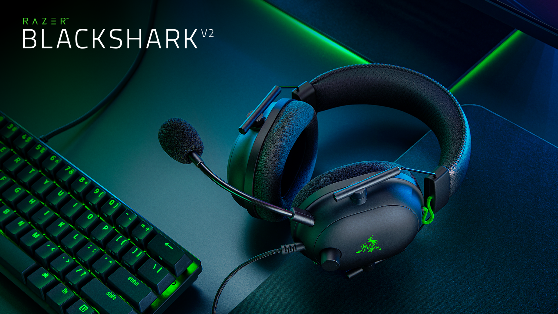 THE NEW TRIPLE THREAT IN ESPORTS – THE RAZER BLACKSHARK V2
